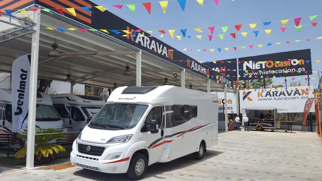 jornada puertas abiertas de venta autocaravanas y caravanas