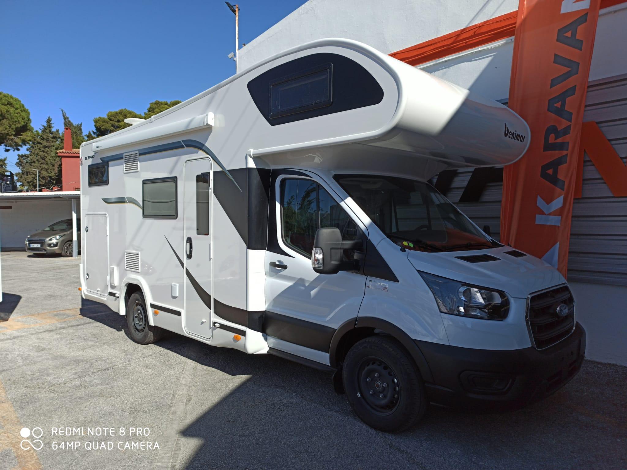BENIMAR SPORT 340UP 2021 5PLAZAS